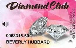 Diamond Mountain Casino Susanville, CA - Slot Card - Casino Cards