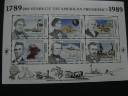 Dominica 1989 Presidents Of USA  Sheetlet 2 SCOTT No.1205 I201807 - Dominica (1978-...)