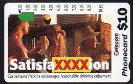 AUSTRALIA, 1994 $5 XXXX BEER CARD USED - Australia