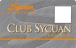 Sycuan Casino - El Cajon, CA USA - BLANK Platinum Slot Card - Casino Cards