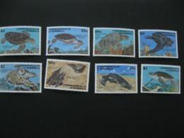 Dominica  1993  Turtles  1548-1555  SCOTT No. I201807 - Dominica (1978-...)