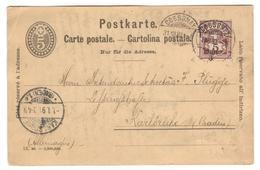 9966 - Pour L'Allemagne - 1882-1906 Armarios, Helvetia De Pie & UPU