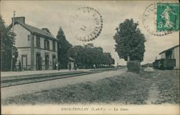 35 TEILLAY / La Gare / - Autres Communes