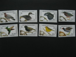 British Virgin Islands 1987  1990 Birds And Eggs 8v  I201807 - British Virgin Islands