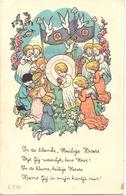 Devotie - Devotion - Communie Communion - Jeannette Van Hollebeke - Ruiselede 1942 - Communion