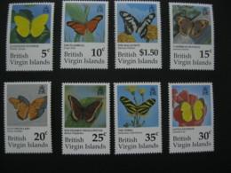 British Virgin Islands  1991 Butterflies 8v I201807 - British Virgin Islands