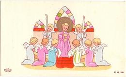 Devotie - Devotion - Communie Communion - Mariette De Waele - Ruiselede 1945 - Communion