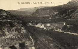BEDARIEUX  Vallée De L'Orb Et Usine Bernat RV - Bedarieux