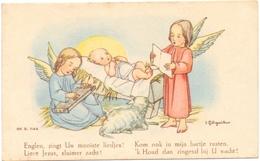 Devotie - Devotion - Communie Communion - Jeannine Dufait - Ruiselede 1943 - Communion