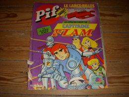 VAILLANT PIF GADGET 636 06.1981 CAPITAINE FLAM  DICENTIM Par KAMB JEU De La TRANSAT - Vaillant