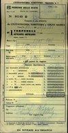 148 FERROVIE DELLO STATO BIGLIETTO CIVITAVECCHIA - GOLFO ARANCI - Biglietti Di Trasporto
