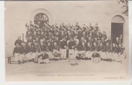 Militaria Algérie CONSTANTINE Musique Du 3 ème Zouaves 1912 - Regimente