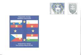 Slovaquie Slovensko Entier Postal, Ganzsachen, Postal Stationery. Enveloppe Umschläge - Entiers Postaux