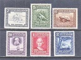 ECUADOR  340-45  **  DARWIN,  MAP,  GALAPAGOS - Ecuador