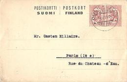 Finlande Suomi Entier Postal, Ganzsachen, Postal Stationery. Carte Postale, Postkarten, Postkort. - Finland