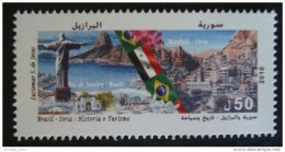 Syria 2010 MNH -History & Tourism - Joint Issue With Brazil Brasil - Syria