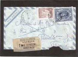E13 - Argentinepour PARIS. EXPRESO. Déchirée à L' Ouverture Côté Bas. - Lettres & Documents
