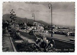 Genova Corso Italia Viaggiata 1951 # - Genova