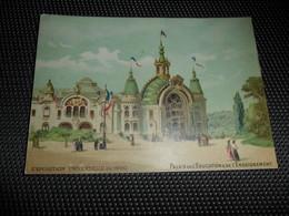 Chromo ( 7129 )  1 Chromo Sans Publicité ( Zonder Reklame )  Exposition Universelle De 1900 à Paris - Trade Cards