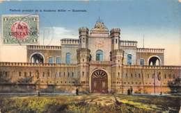 Guatemala / Belle Oblitération - 10 - Fachada Principal De La Academia Militar - Guatemala