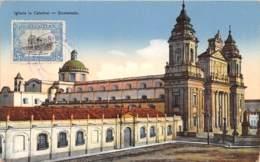 Guatemala / Belle Oblitération - 12 - Iglesia La Catedral - Guatemala