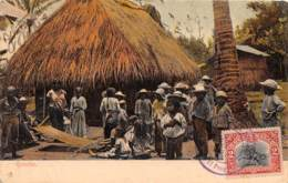 Guatemala / Belle Oblitération - 16 - Indios - Très Beau Cliché Animé - Guatemala
