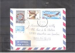 Lettre De Syrie Vers La Belgique - 1980 - (à Voir) - Syrie