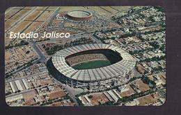 CPSM MEXIQUE - MEXICO - JALISCO - GUADALAJARA - Aérea Del Estadio Jalisco Y Plaza Monumental TB STADE FOOTBALL - Football
