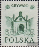 Poland 768 Unmounted Mint / Never Hinged 1952 Historical Monuments - Unused Stamps