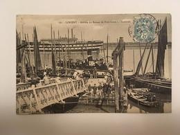 Lorient - Arrivée Du Bateau Port-Louis à L'Estacade - Boten