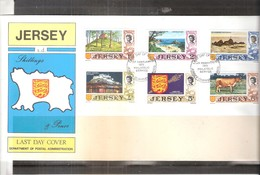 Jersey - Last Day Cover - Yv.6/11  (à Voir) - Jersey