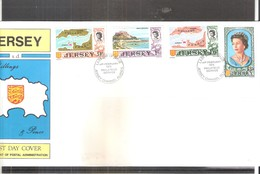 Jersey - Last Day Cover - Yv.12/15  (à Voir) - Jersey