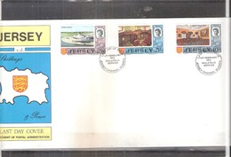 Jersey - Last Day Cover - Yv.16/18  (à Voir) - Jersey