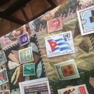 CUBA BANDIERA E NAZIONI UNITE - Francobolli