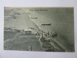 Ukraine-Historical Romania Basarabia/Budachi(Cetatea Alba),Dacia Beach/Plaja Dacia,unused Postcard About 1920 - Ukraine