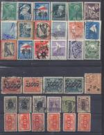 POLOGNE ! Timbres Anciens Depuis 1919 ! SURCHARGES - 1919-1939 République