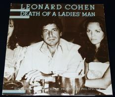 "LEORNAD COHEN – ""Death Of A Ladies' Man"" – LP – 1977 – CBS 86042 – CBS Inc – Made In Holland - Rock"