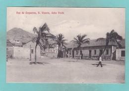 Old Post Card Of Rue De Coqueiros S. Vicente,Cabo Verde,Cape Verde,,R71. - Cap Vert