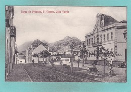 Old Post Card Of Largo Da Pracinha S.Vicente,Cape Verde,Cabo Verde,,R71. - Cap Vert