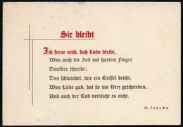 B5798 - Spruchkarte - M. Feesche - DDR - Postcards