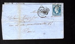 1862 'APRÈS DÉPART' J Couturier  5 Place St Nizier Lyon > Godefroi , Facteur D'Instruments 5  Rue Montmartre Paris(EO7- - 1862 Napoleon III