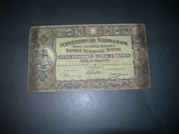 Suisse 5 Francs 1936 - Suisse