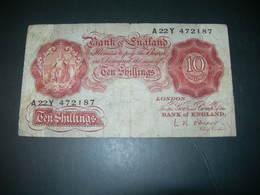 England 10 Shillings. - Gran Bretagna