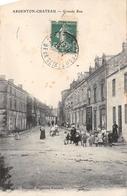 ¤¤   -  ARGENTON-CHATEAU    -  Grande Rue   -   ¤¤ - Argenton Chateau