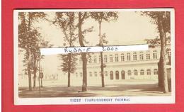 VICHY ALLIER VERS 1870 1880 L ETABLISSEMENT THERMAL PHOTOGRAPHE ALEO MIGUEL ET DAVANNE ALPHONSE  PHOTOGRAPHIE CDV - Lieux