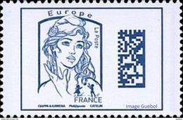 France Marianne De La Jeunesse Par Ciappa Et Kawena N° 5019,** Datamatrix Europe ( Bleu) - 2013-... Marianne De Ciappa-Kawena