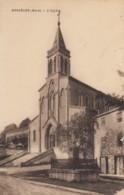 CPA - Bessèges - L'église - Bessèges