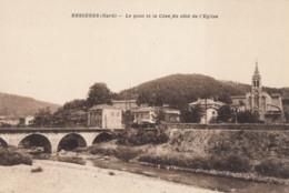 CPA - Bessèges - Le Pont Et La Cèze Du Côté De L'église - Bessèges