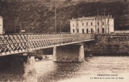 CPA - Bessèges - La Gare Et Le Pont Sur La Cèze - Bessèges