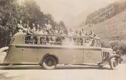 Grande Chartreuse Bus Autocar Etablissement Picou Grenoble Carte Photo 1936 - Chartreuse